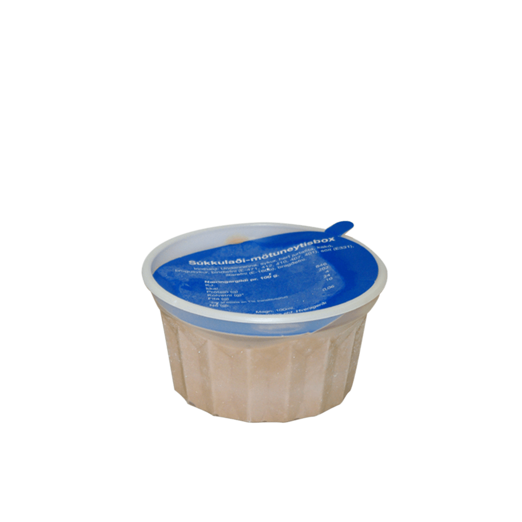 "Súkkulaði mötuneytisbox<br><span class=""bss-product-name"">22 stk.</span>"