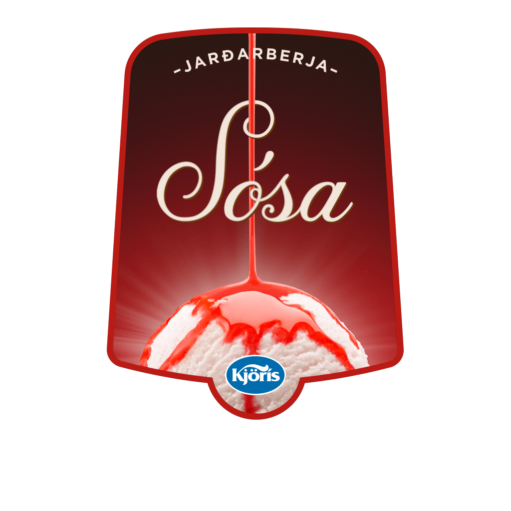 Jarðarberja Sósa